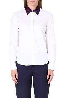 PAUL SMITH MAINLINE Leopard print collar shirt