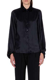 PAUL SMITH MAINLINE Bell-sleeve silk shirt