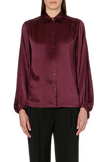 PAUL SMITH MAINLINE Bell-sleeve silk shirt
