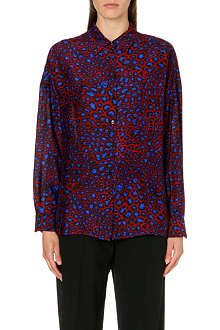 PAUL SMITH MAINLINE Leopard-print shirt