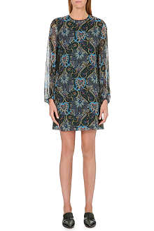 PAUL SMITH MAINLINE Paisley-print silk dress
