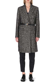 PAUL SMITH MAINLINE Belted tweed coat