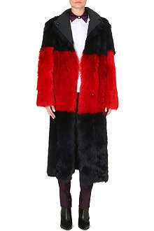 PAUL SMITH MAINLINE Reversible shearling coat