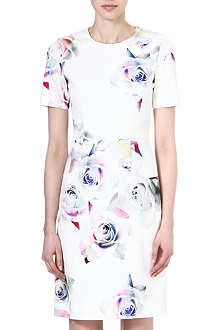 PAUL SMITH BLACK Cotton rose print dress