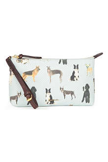 PAUL SMITH ACCESSORIES Dog-print pouch