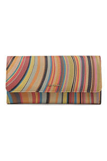 PAUL SMITH ACCESSORIES Swirl trifold wallet