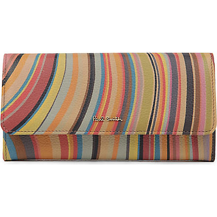 PAUL SMITH ACCESSORIES Swirl trifold wallet (Swirl