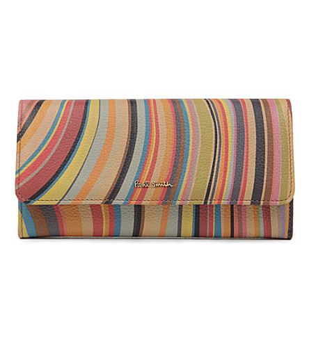 PAUL SMITH ACCESSORIES Swirl trifold wallet (Swirl