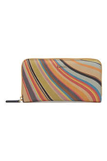 PAUL SMITH ACCESSORIES Swirl leather wallet