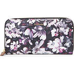 PAUL SMITH ACCESSORIES Floral zip-around wallet