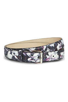 PAUL SMITH ACCESSORIES Floral print belt