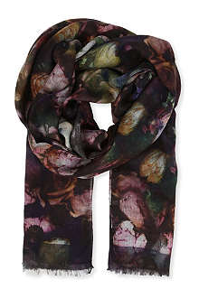 PAUL SMITH ACCESSORIES Romantic rose wrap