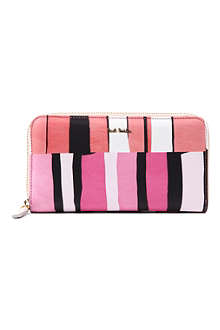 PAUL SMITH ACCESSORIES Printed leather wallet