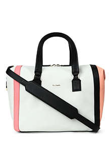 PAUL SMITH ACCESSORIES Ziggy leather duffle bag