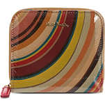 PAUL SMITH ACCESSORIES Swirl patent wallet