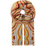 PAUL SMITH ACCESSORIES Modal swirl scarf