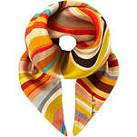 PAUL SMITH ACCESSORIES Silk swirl scarf