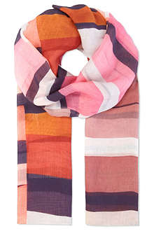 PAUL SMITH ACCESSORIES Large square print scarf