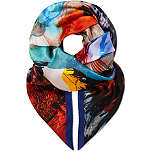 PAUL SMITH ACCESSORIES Lobster silk scarf