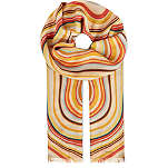 PAUL SMITH ACCESSORIES Wool-silk swirl scarf