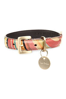 PAUL SMITH ACCESSORIES Swirl dog collar