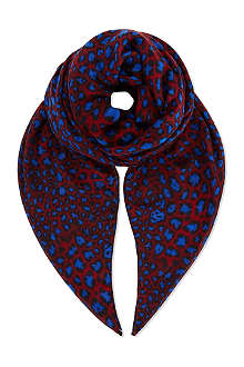 PAUL SMITH ACCESSORIES Modal animal scarf