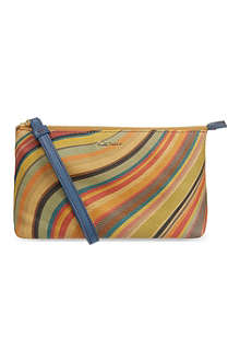 PAUL SMITH ACCESSORIES Swirl wristlet pouch