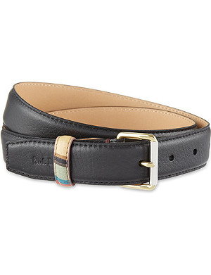 PAUL SMITH ACCESSORIES Abbey leather belt