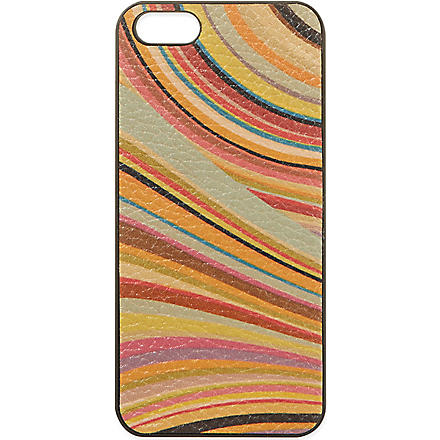 PAUL SMITH ACCESSORIES Swirl iPhone 5 case (Multi