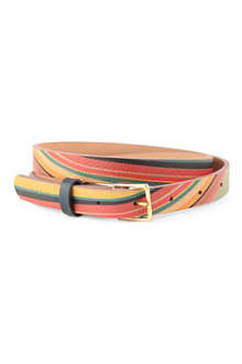 PAUL SMITH ACCESSORIES Esma swirl leather belt