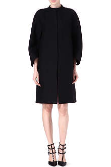 VALENTINO Wool flair sleeve coat