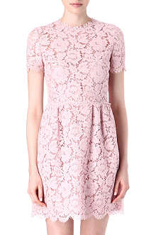 VALENTINO Lace babydoll dress