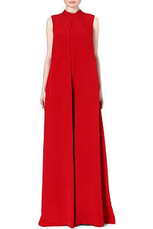 VALENTINO Sleeveless silk jumpsuit