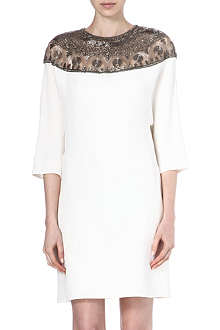 VALENTINO Silk embellished dress