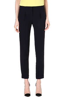VALENTINO Slim-fit silk trousers