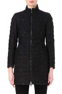 VALENTINO Lace quilted coat