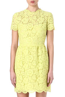 VALENTINO Classic lace mini dress