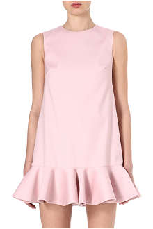 VALENTINO Frilled-hem dress