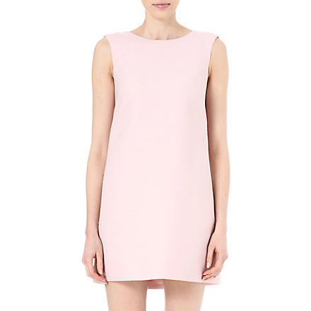 VALENTINO Split-back shift dress (Powder