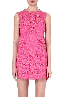 VALENTINO Lace bow-detail dress