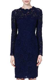VALENTINO Classic lace knee-length dress
