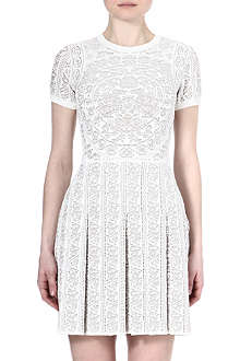 VALENTINO Jacquard-knit dress