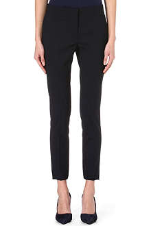 VALENTINO Slim-fit stretch-wool trousers