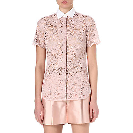 VALENTINO Lace shirt (Rose