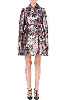 VALENTINO Metallic brocade coat