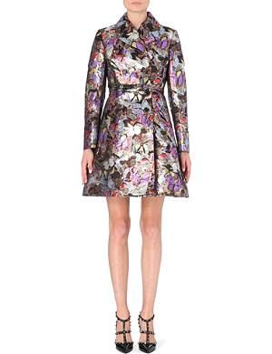 VALENTINO Metallic brocade coat