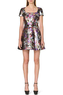VALENTINO Butterfly brocade dress