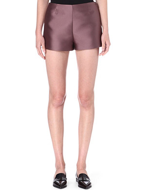 VALENTINO Satin shorts