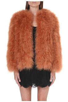VALENTINO Faux-fur coat