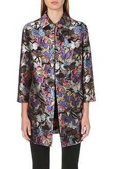 VALENTINO Brocade butterfly coat